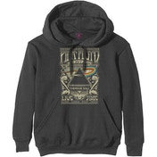 Pink Floyd - Carnegie Hall Poster Men's Small Pullover Hoodie - Charcoal Grey