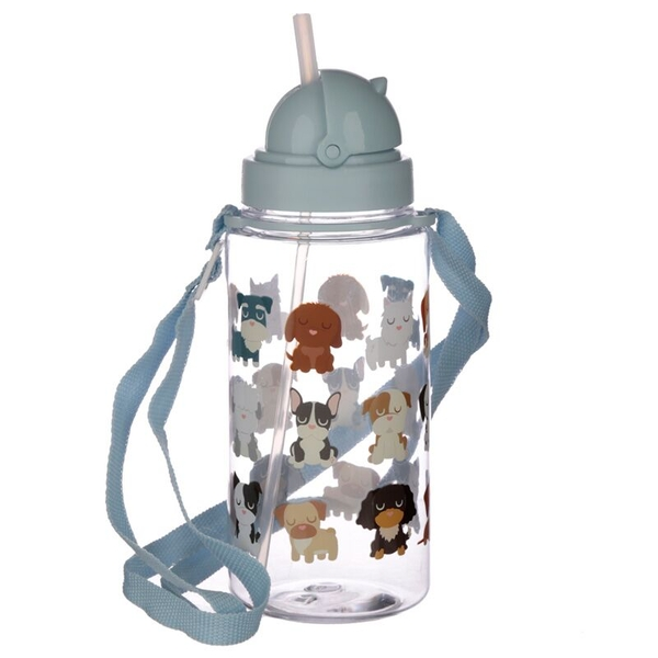 Dog Squad Design 450ml Childrens Water Bottle