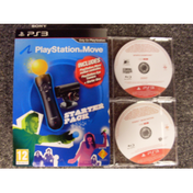 Playstation Move Starter Pack Includes 2 Promo Games Eyepet & Sports Champions Game PS3
