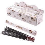 Coconut (Pack Of 6) Stamford Hex Incense Sticks