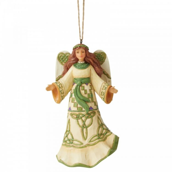 Irish Angel Hanging Ornament by Jim Shore