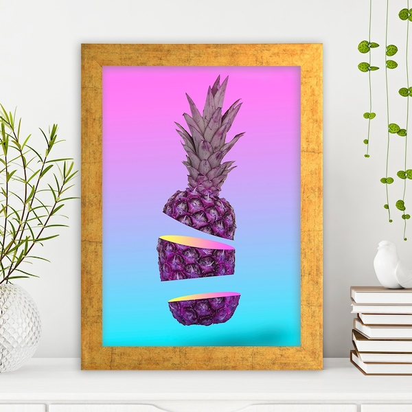 AC1165160221 Multicolor Decorative Framed MDF Painting