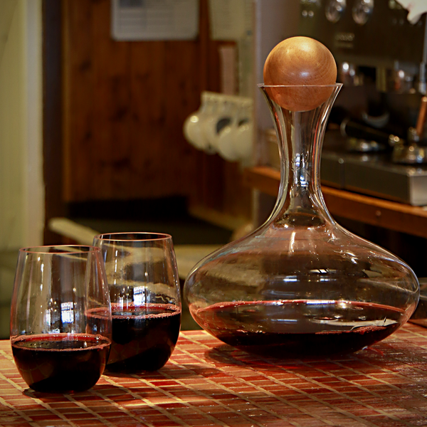 Red Wine Decanter & Magic Cleaning Balls   M&W - Image 4