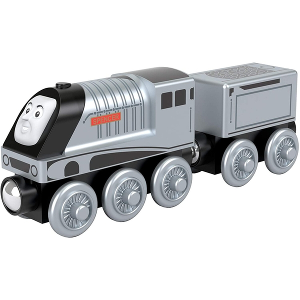 Wooden Spencer Toy Train  (Thomas & Friends) Playset