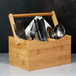 Bamboo Utensil Cutlery Holder | M&W - Image 7