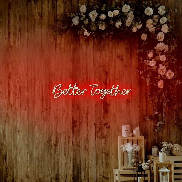 Better Together - Red Red Wall Lamp