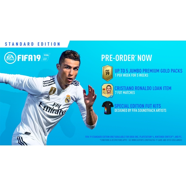 FIFA 19 PS4 Game (Pre-Order FUT Packs) - Image 2