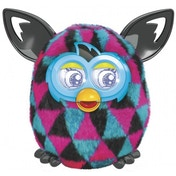 Furby Boom - Black and Pink Triangles