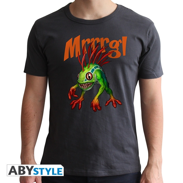 World Of Warcraft - Murloc - Men's Medium T-Shirt - Grey