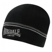 Lonsdale Pull Down Hat One Size Black