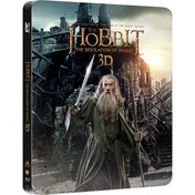 The Hobbit Desolation of Smaug Steelbook 3D Blu-ray & UV Copy