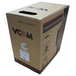 VCOM CAT5e UTP 305m Grey Retail Packaged Reel Box 24AWG 4 Pairs Solid CCA Network Cable - Image 2