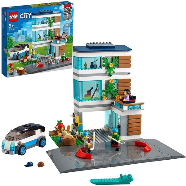 Lego City Family House Construction Set