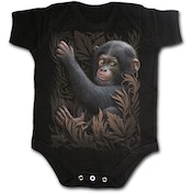 Monkey Business Baby X-Small Sleepsuit - Black