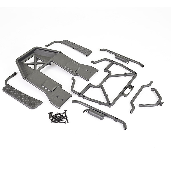 Ftx Texan 1/10 Moulded Roll Cage Assembly