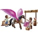 Playmobil: THE MOVIE Marla and Del with Flying Horse - Image 2