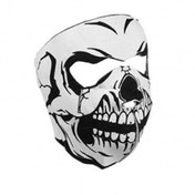 Full Face Neoprene Bike/Ski/Snowboard Mask - Skelton