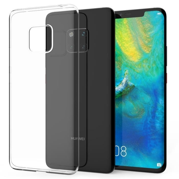 Caseflex Huawei Mate 20 Pro Gel Case - Clear