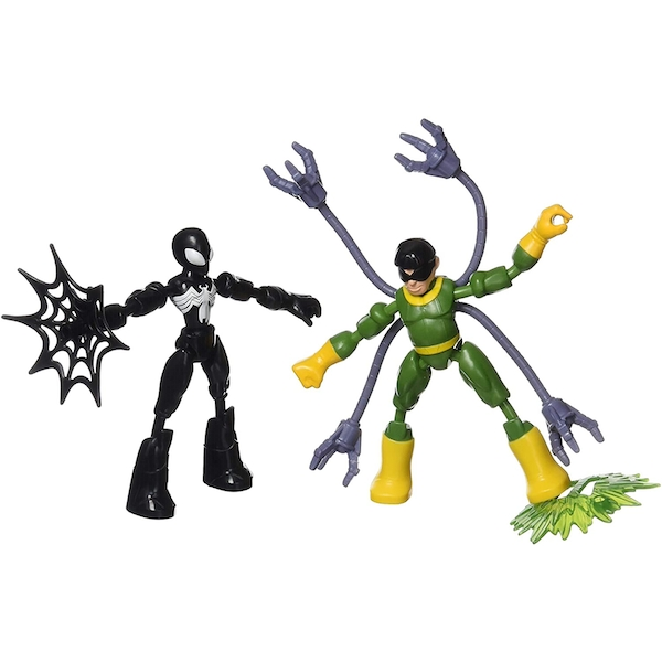 Bend and Flex Spiderman vs Doc Ock (Spiderman) Figures
