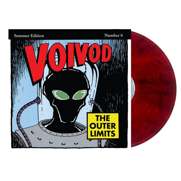 Voivod - The Outer Limits Limited Edition Red & Black Smoke Vinyl