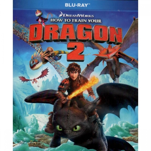 Ex-Display How to Train Your Dragon 2 Blu-ray Used - Like New