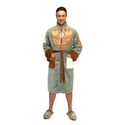 Star Wars Mandalorian Suit Hoodless Bathrobe (Dressing Gown) Unisex One Size Fits All