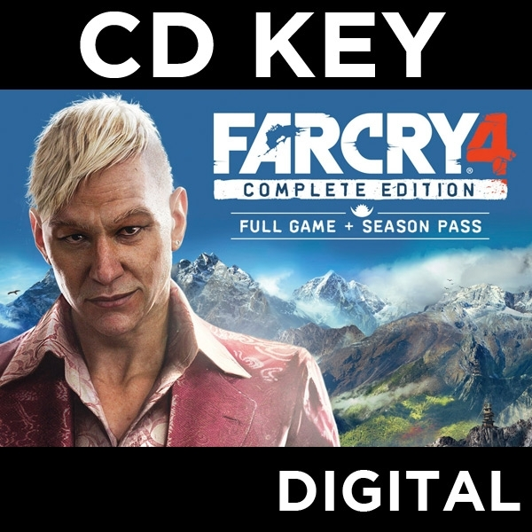 Far Cry 4 Complete Edition PC CD Key Download for uPlay
