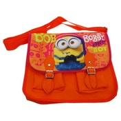 Minions Movie Satchel Bag - Red