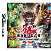 Bakugan 3 Rise of the Resistance Game DS