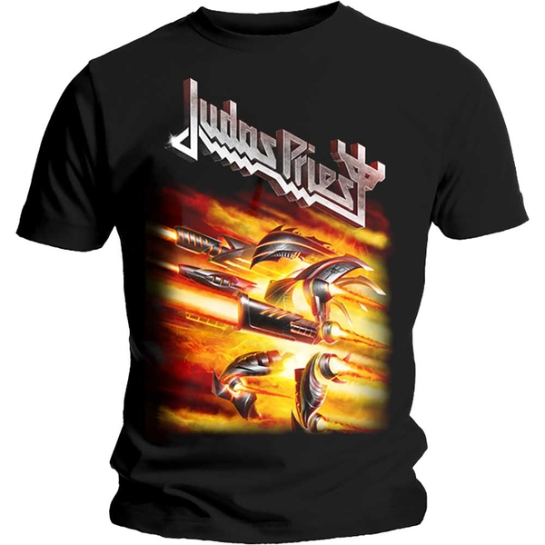 Judas Priest - Firepower Unisex Small T-Shirt - Black