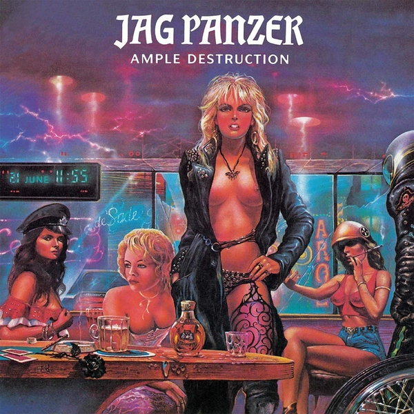 Jag Panzer - Ample Destruction Neon Violet  Vinyl