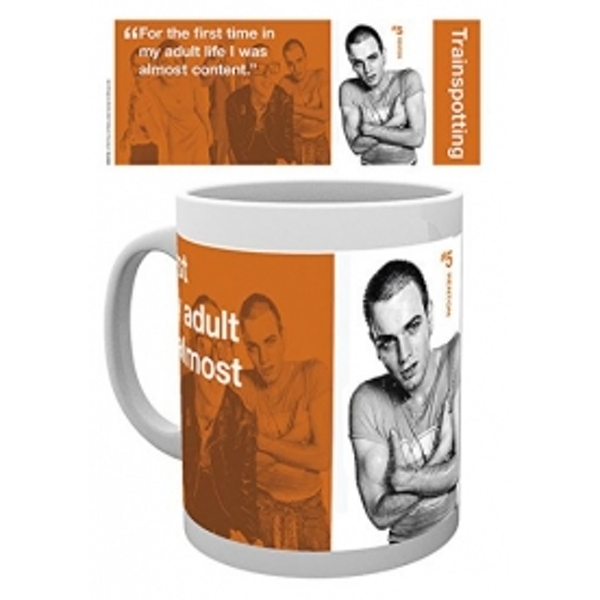Trainspotting Renton Mug