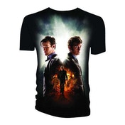 Doctor Who - Day of the Doctor Men's XX-Large T-Shirt - Black