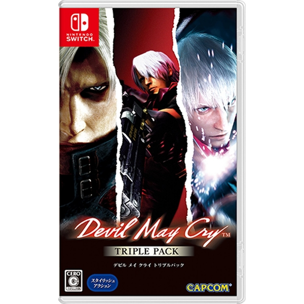 Devil May Cry Triple Pack 1,2,3 Nintendo Switch Game