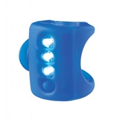 Knog Gekko 3 Led Front Light Blue
