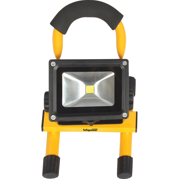 Infapower F048 10W LED Portable Rechargeable COB Worklight UK Plug