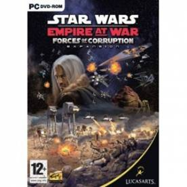 Star Wars Empire at War Forces of Corruption Expansion Pack Game PC