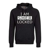 Sherlock - I am Sherlocked Men's XXX-Large Pullover Hoodie - Black