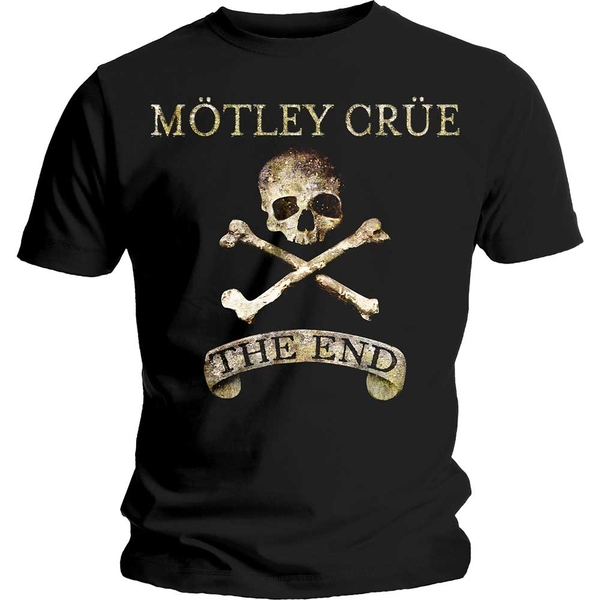Motley Crue - The End Unisex Medium T-Shirt - Black
