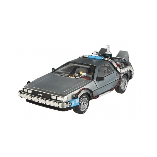 Hot Wheels 1:18 DeLorean Time Machine with Mr Fusion Diecast - Image 2