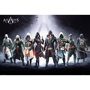 Assassins Creed Characters Maxi Poster