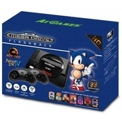 Ex-Display Arcade Classic Sega Mega Drive Flashback Wireless Mini HD Console (UK Plug) Used - Like New