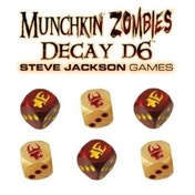 Munchkin Zombie Decay D6 Dice Board Game