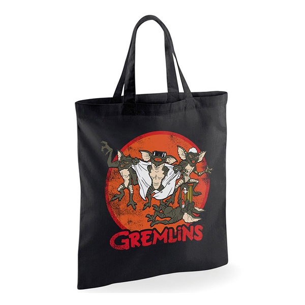 Gremlins - Retro Group Black Tote Bag