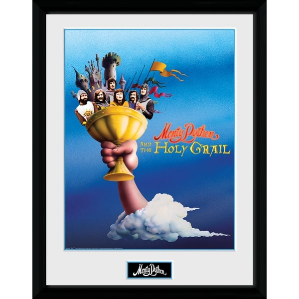 Monty Python Holy Grail Collector Print