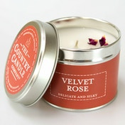 Velvet Rose (Pastels Collection) Tin Candle