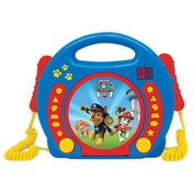 Lexibook RCDK100PA Paw Patrol CD Player with Microphones UK Plug