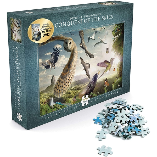 David Attenborough's Conquest of the Skies Jigsaw (1,000 pieces)