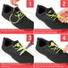 Proworks No Tie Reflective Shoe Laces -Yellow - Image 2
