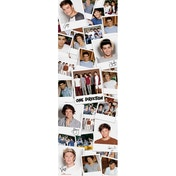 One Direction Polaroids Door Poster